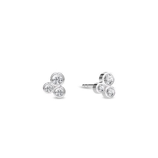 Spinning jewelry - sølv ørering, Oasis ørestik