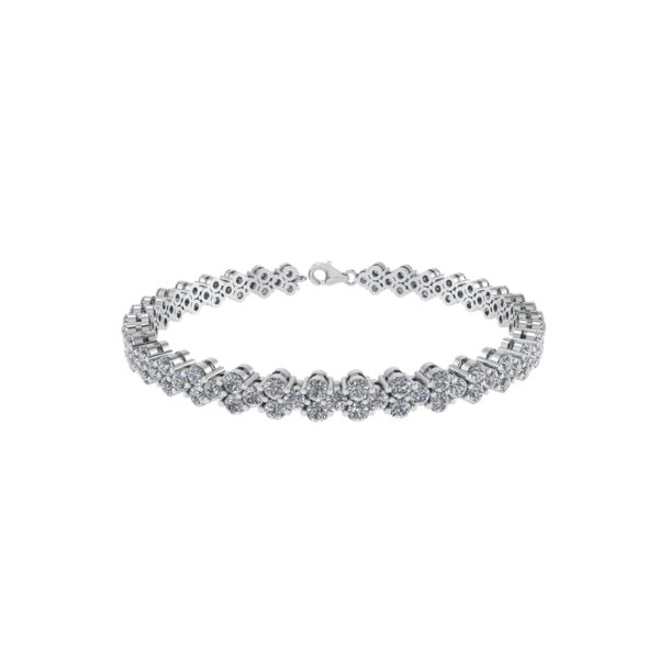 Sterling Sølv Armbånd fra Smykkekæden DML0121S