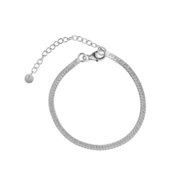 Stine A Snake armbånd - sølv