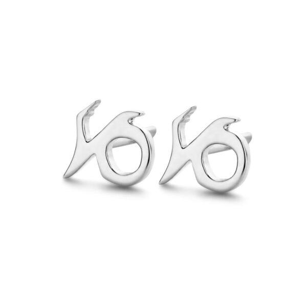 Stjernetegn Stenbukken Sterling Sølv Ørestikker fra Spirit Icons