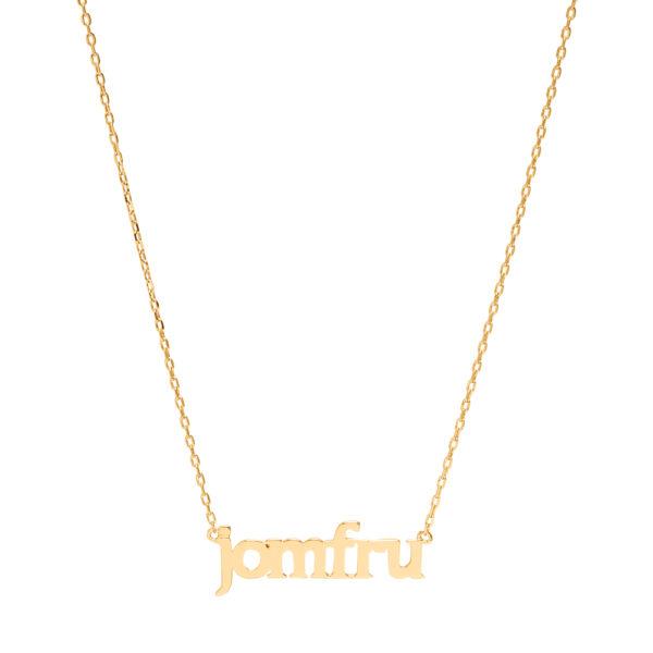 Sui Ava Stjernetegn halskæde, Jomfru - Guld