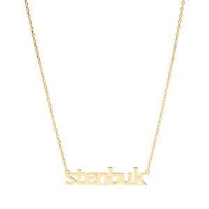 Sui Ava Stjernetegn halskæde, Stenbuk - Guld