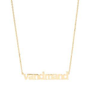 Sui Ava Stjernetegn halskæde, Vandmand - Guld
