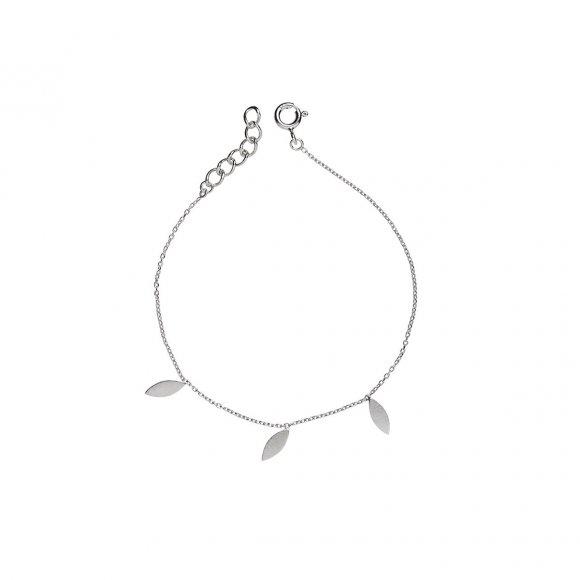 Three Leaves Bracelet | Sølv Fra Stine A