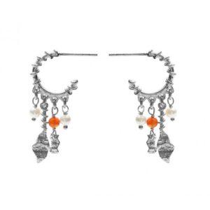 Viola Earring | Sølv Fra Maanesten