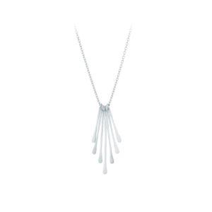 Waterfall Necklace Sterling Sølv Halskæde fra Pernille Corydon