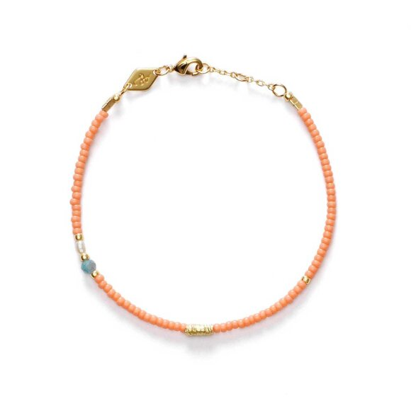 Wave Chaser Armbånd | Peaches And Cream Fra Anni Lu