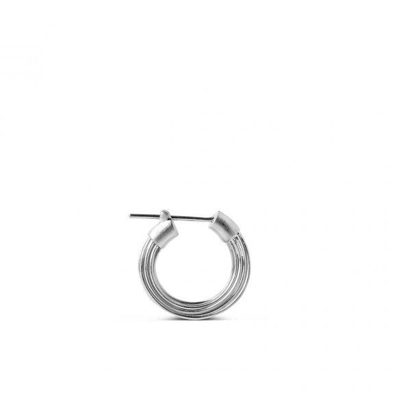 Wire Ørering Small 1 Pc | Sølv Fra Jane Kønig