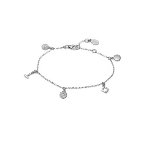 With Love Darling Prosperity armbånd - Silver